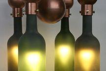 Botellas reutilizadas / Todo lo que podemos hacer con las botellas vacías!!!! / by Patricia Mejía