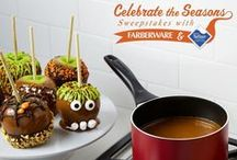 Celebrate the Seasons: Halloween / Looking for a ghoulishly good recipe for success? From family-favorites, to pre-trick or treating meals to Halloween favorites, find your easy entertaining holiday inspiration with Farberware® Cookware and Teflon®.  / by Farberware Cookware