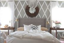 Luxury Bedrooms / Bomchickawowow. / by Catherine Tuckey