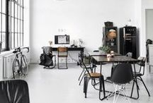 INTERIOR DESIGN / LOFTS GALORE / by Michel van Collenburg