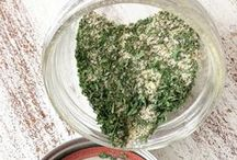Food - Herbs + Spice Mixes / by Hannah Mueller