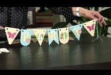 Video Tutorials: Scrapbooking & Stamping / by Tina Lovell, Independent Consultant, Close To My Heart