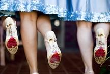 Bridesmaids, Groomsmen, & Family / by Mandy Nenstiel