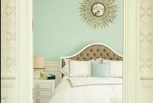 bedrooms / by Rachel Meredith
