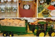 Farm Birthday party / Lots of cute Farm and Cow birthday party ideas / by Linda Asbury