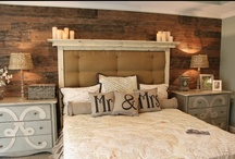 Home Decorating-Bedrooms / by Katie Entrekin