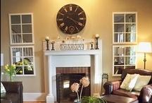Home Decorating-Living Room / by Katie Entrekin