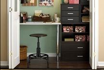 Home Decorating-Work Space / by Katie Entrekin