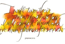Calligraphy / by Dianne Hogue