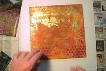 Art Journaling Videos / by Dianne Hogue