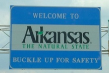 USA ~ Arkansas, Sweet Arkansas / I lived in Arkansas exactly 30 years. I was born and raised there, and moved on my 30th birthday. My homeland forever. / by Karen Williams