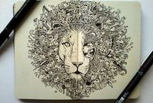 Doodling / Drawing, sketching,doodling, imspiration / by Cari Lomas