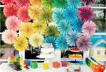 Rainbows  / Rainbow party ideas / by Mary Kelly