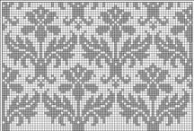 ❅ Knitting FAIR-ISLE & Intarsia Diagrams ❅  / Voorbeelden van patronen  / by ❅ DUTCH KNITTY ❅
