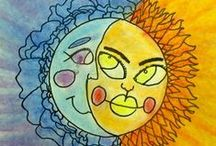 ArtEd- Sun & Moon / by Donna Staten