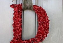 Door Decor / Wreaths and Door Hangings / by Kit Rice