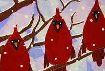 ArtEd- Red Birds / by Donna Staten