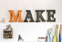 Craft Room Nirvana to be continued... / ideas to make the craft room of my dreams / by D L
