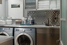 Laundry rooms so good, they are dirty... / who doesn't love a good laundry room, being organized and a good design is heavenly! / by D L