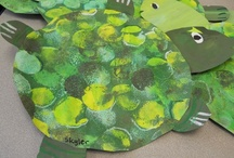ArtEd- Turtles, frogs / by Donna Staten