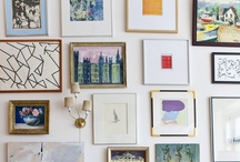 Gallery Wall Obsession / by Kylee Noelle