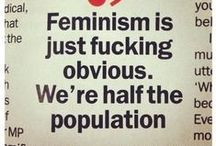 To think about / Feminism!  / by Marcela .