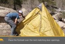 How-To Videos / Learn about the materials used in our down jackets, how to set up our tents and shelters, and more in these informational videos.  / by GoLite