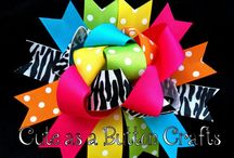 Ribbons, Bows, & Ruffles / Things for baby girls / by Teresa Cahill