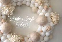 {wreaths} / by Megan Brooke Handmade