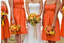 Orange Wedding. Color-accent Wedding. / Finds and Ideas by Nia Person / by Nia Person Bridal