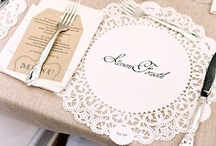 Wedding. Tables / by Nia Person Bridal