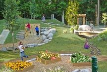 Natural Playspaces / A natural play space for childcare / by Beth Moore