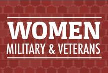 Women: Military and Veterans / Resources and information for our Women who currently serve or who have served.  We thank you for your service! / by Veterans United