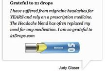 21 Drops Testimonials / Not sure if you're a 21 Drops believer? Find out what some of our customers have to say about our blends! / by 21 Drops