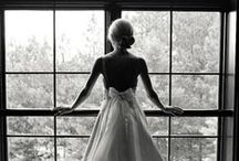 Girls in White Dresses with Blue Satin Sashes. / Wedding of my dreams. / by McKenzie Brooke