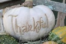 Fall & Thanksgiving / by ShabbyPinkGirl