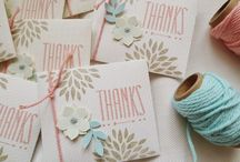 Cards/Tags / by Sharie O. Burris