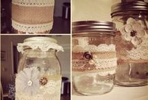 Jars, containers / by Nancy Runion