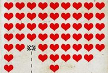 RED ♡ HEARTS / by BELLE PINS