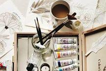 Workspaces: Studio / by Eliz B. Sarobhasa
