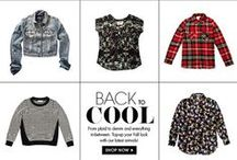 Back to Cool / Back to Cool. From plaid to denim and everything in-between. Top up your Fall look! / by Jean Machine
