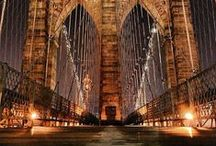 CITY LIGHTS / Urban places that spark the imagination.  NYC and other.  / by Janeice  Silberman -  Art / Design