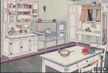 1920's Kitchen / by Karen