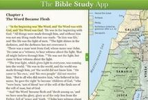 The Bible Study App / Links to our (always) free Bible Study App / by OliveTree