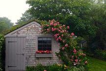 Garden Sheds... / by Denise Linney