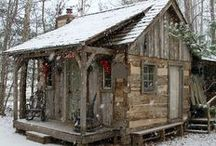 Cabins... / by Denise Linney
