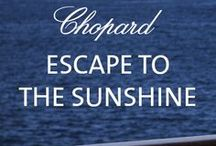 Chopard's Summer Must-Haves / The Style of Summer  Escape to the sunshine... and discover our summer must-haves. Are you sophisticated or playful? Modern or vintage? Inspire your summer style with Chopard...  / by Chopard