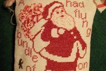 Christmas cross stitch / by Gloria Hanaway