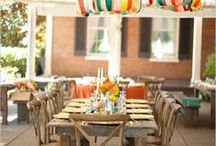 party decor. / by Marie Shevchuk