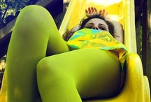 Green Tights / by Pantyhose Party